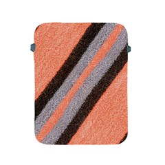 Fabric Textile Texture Surface Apple Ipad 2/3/4 Protective Soft Cases