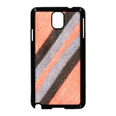 Fabric Textile Texture Surface Samsung Galaxy Note 3 Neo Hardshell Case (black)
