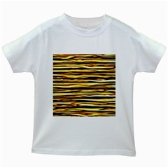 Texture Wood Wood Texture Wooden Kids White T Shirts
