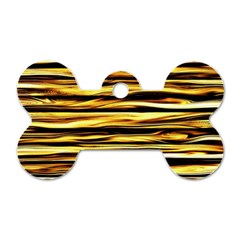 Texture Wood Wood Texture Wooden Dog Tag Bone (one Side)