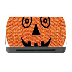 Fabric Halloween Pumpkin Funny Memory Card Reader With Cf