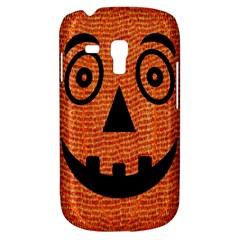 Fabric Halloween Pumpkin Funny Galaxy S3 Mini