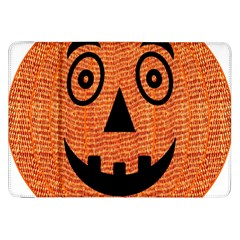 Fabric Halloween Pumpkin Funny Samsung Galaxy Tab 8 9  P7300 Flip Case