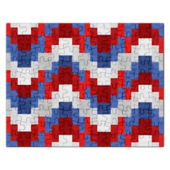 Texture Textile Surface Fabric Rectangular Jigsaw Puzzl