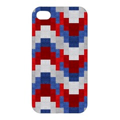 Texture Textile Surface Fabric Apple Iphone 4/4s Premium Hardshell Case