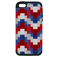 Texture Textile Surface Fabric Apple Iphone 5 Hardshell Case (pc+silicone)