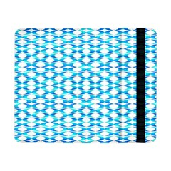 Fabric Geometric Aqua Crescents Samsung Galaxy Tab Pro 8 4  Flip Case