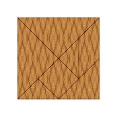 Wood Background Backdrop Plank Acrylic Tangram Puzzle (4  X 4 )