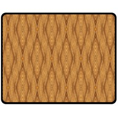 Wood Background Backdrop Plank Double Sided Fleece Blanket (medium)