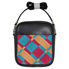 Fabric Textile Cloth Material Girls Sling Bags