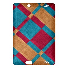 Fabric Textile Cloth Material Amazon Kindle Fire Hd (2013) Hardshell Case