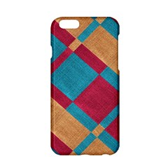 Fabric Textile Cloth Material Apple Iphone 6/6s Hardshell Case