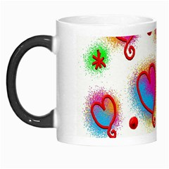 Love Hearts Shapes Doodle Art Morph Mugs