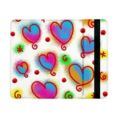 Love Hearts Shapes Doodle Art Samsung Galaxy Tab Pro 8 4  Flip Case