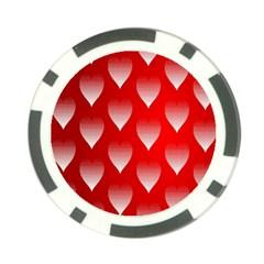 Texture Desktop Background Seamless Poker Chip Card Guard (10 Pack)