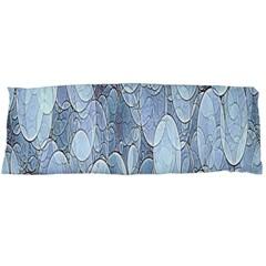 Bubbles Texture Blue Shades Body Pillow Case Dakimakura (two Sides)