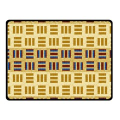 Textile Texture Fabric Material Fleece Blanket (small)