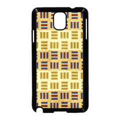 Textile Texture Fabric Material Samsung Galaxy Note 3 Neo Hardshell Case (black)