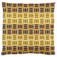 Textile Texture Fabric Material Large Flano Cushion Case (two Sides)