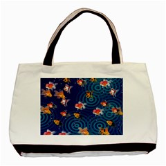 Fish Swim In The Ocean Basic Tote Bag (two Sides)
