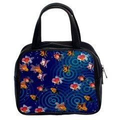 Fish Swim In The Ocean Classic Handbags (2 Sides)