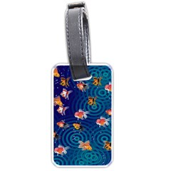 Fish Swim In The Ocean Luggage Tags (one Side)