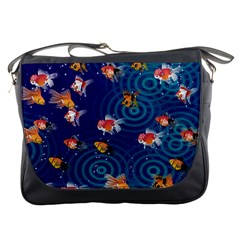 Fish Swim In The Ocean Messenger Bags