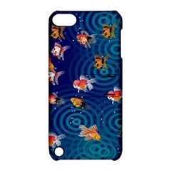 Fish Swim In The Ocean Apple Ipod Touch 5 Hardshell Case With Stand