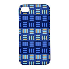 Textiles Texture Structure Grid Apple Iphone 4/4s Hardshell Case With Stand