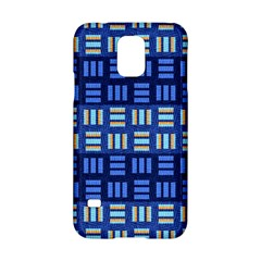 Textiles Texture Structure Grid Samsung Galaxy S5 Hardshell Case