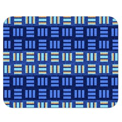 Textiles Texture Structure Grid Double Sided Flano Blanket (medium)