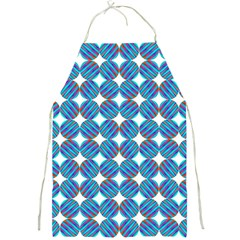 Geometric Dots Pattern Rainbow Full Print Aprons