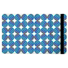 Geometric Dots Pattern Rainbow Apple Ipad 2 Flip Case