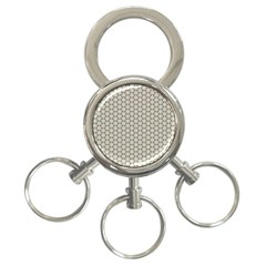 Background Website Pattern Soft 3 Ring Key Chains
