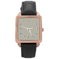 Background Website Pattern Soft Rose Gold Leather Watch