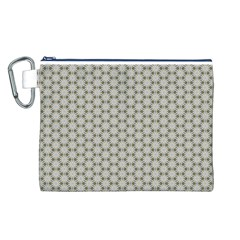 Background Website Pattern Soft Canvas Cosmetic Bag (l)