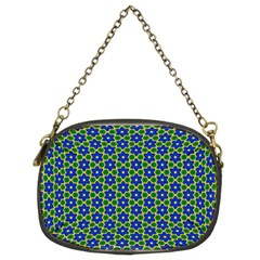 Texture Background Pattern Chain Purses (two Sides)