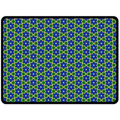 Texture Background Pattern Double Sided Fleece Blanket (large)