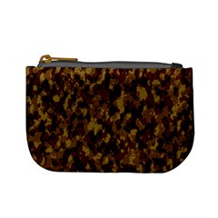 Camouflage Tarn Forest Texture Mini Coin Purses