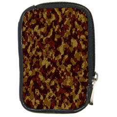 Camouflage Tarn Forest Texture Compact Camera Cases
