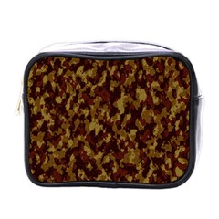 Camouflage Tarn Forest Texture Mini Toiletries Bags