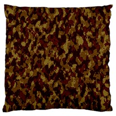 Camouflage Tarn Forest Texture Large Cushion Case (two Sides)