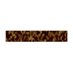 Camouflage Tarn Forest Texture Flano Scarf (mini)