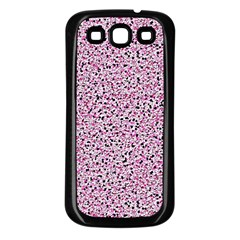 Texture Surface Backdrop Background Samsung Galaxy S3 Back Case (black)