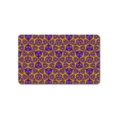 Sacred Geometry Hand Drawing 2 Magnet (name Card)