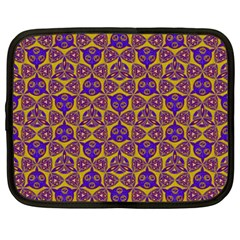 Sacred Geometry Hand Drawing 2 Netbook Case (large)