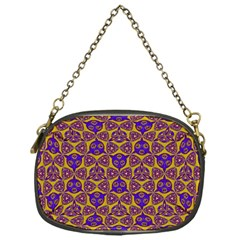 Sacred Geometry Hand Drawing 2 Chain Purses (one Side)