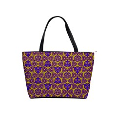 Sacred Geometry Hand Drawing 2 Shoulder Handbags