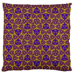 Sacred Geometry Hand Drawing 2 Large Cushion Case (one Side)
