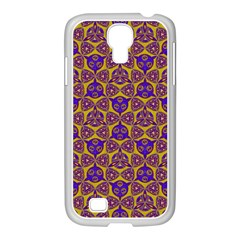 Sacred Geometry Hand Drawing 2 Samsung Galaxy S4 I9500/ I9505 Case (white)